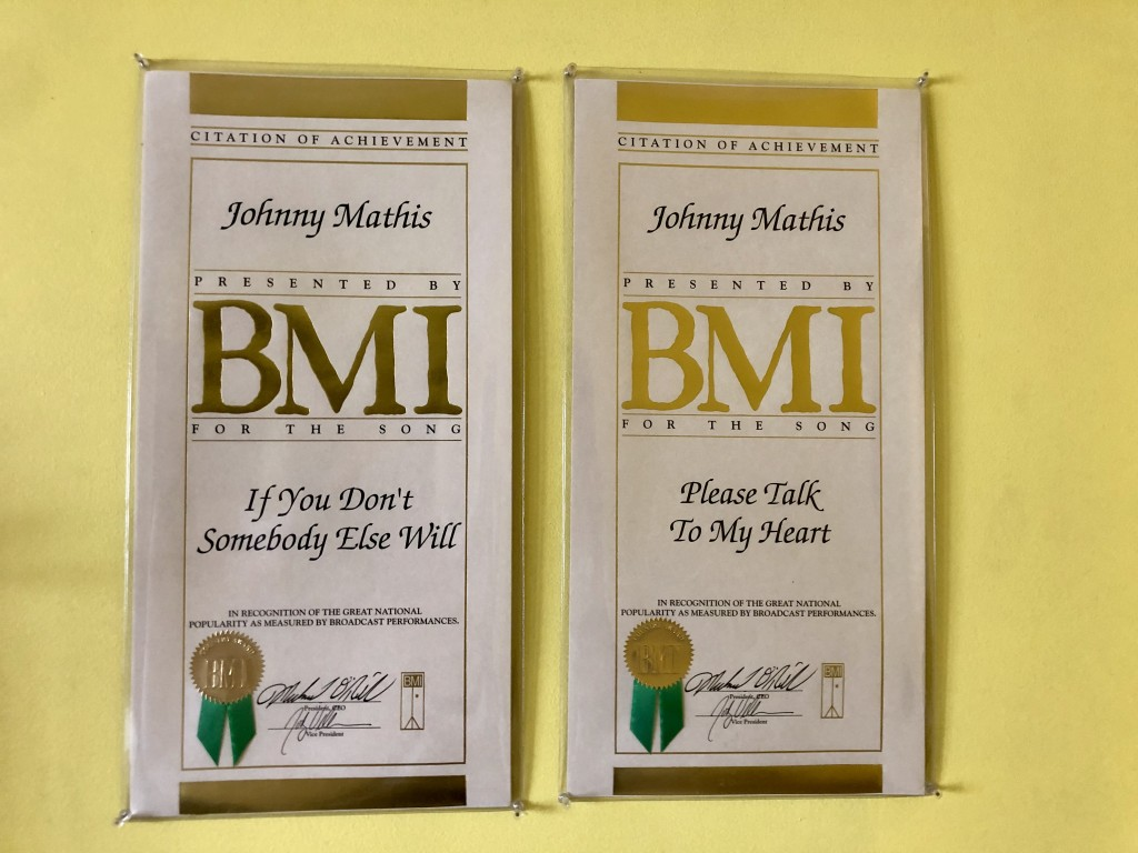BMI Awards, Nashville Songwriters Hall of Fame, Country Music History, Country Johnny Mathis