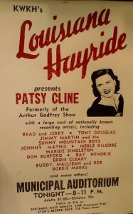 KWKH Patsy Cline Johnny Mathis