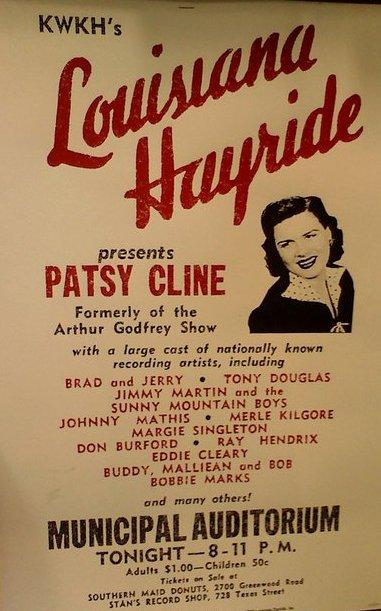 Louisiana Hayride Playbill