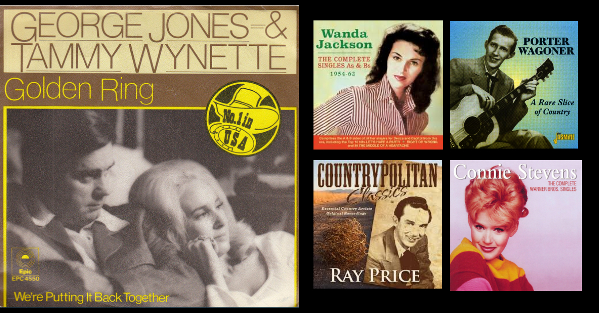 George Jones, Tammy Wynette, Ray Price, Porter Wagoner and many others …